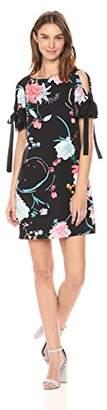 Adrianna Papell Women's Zen Blossom Shift Dress