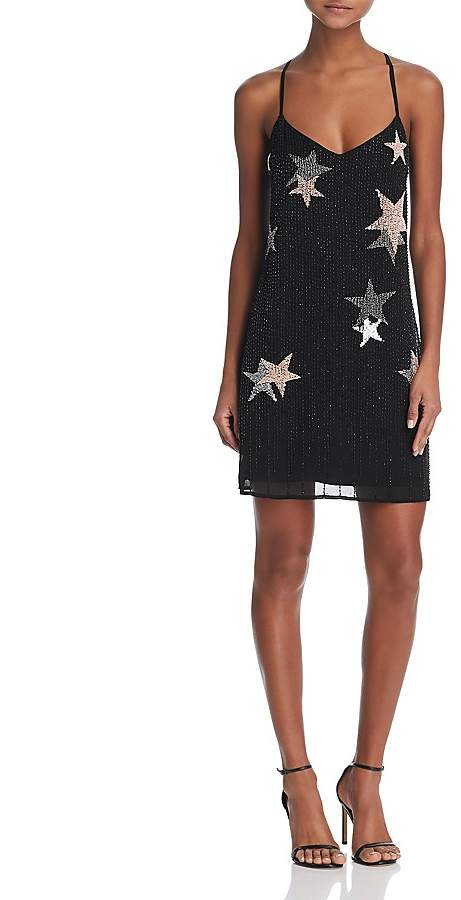 GUESS Sierna Beaded Star Dress