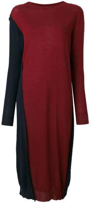 Marni reversible high low dress
