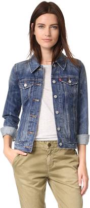 Levi's Boyfriend Trucker Jacket $89.50 thestylecure.com
