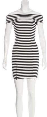 Nicholas Striped Mini Dress