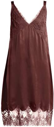 Icons Art Marigold silk slip dress
