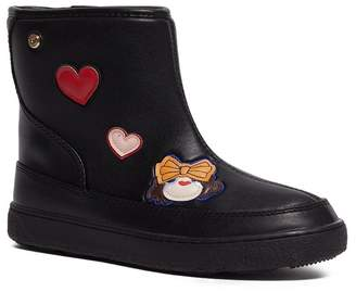 Love Moschino Patch Bootie