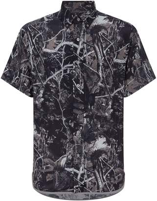 Lanvin Forest Short-Sleeve Shirt