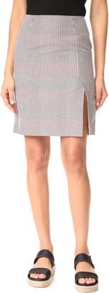 Paul Smith Check Skirt $395 thestylecure.com
