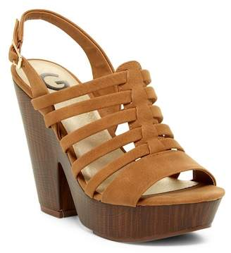 G by GUESS Seany Sandal $69 thestylecure.com