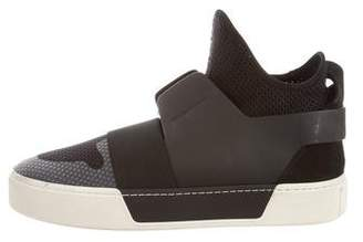 Balenciaga 2017 Round-Toe Low-Top Sneakers