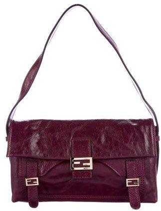 Fendi Leather Baguette Bag