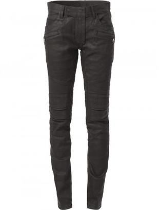 Balmain biker jeans $1,400 thestylecure.com
