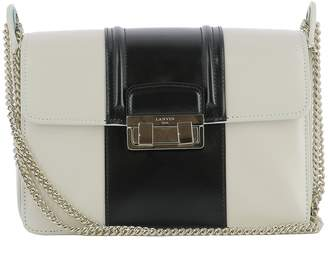 Lanvin Beige Leather Shoulder Bag