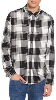 Treasure & Bond Virgil Plaid Sport Shirt