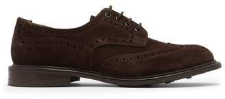 Tricker's Bourton Suede Brogues - Mens - Brown