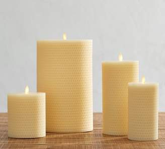 Pottery Barn Premium Flicker Flameless Beeswax Candles
