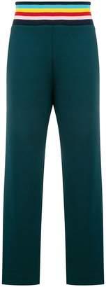 Mira Mikati striped waistband trousers