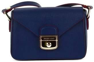 Longchamp Blue Leather Shoulder Bag