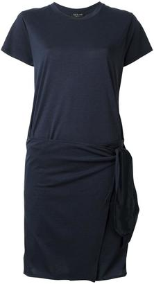 Rag & Bone asymmetric T-shirt dress $328.79 thestylecure.com