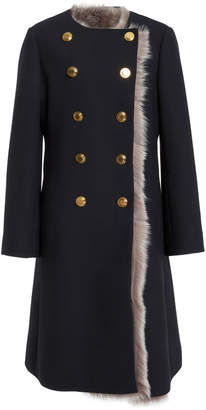 Tory Burch Emilia Double Breasted Coat