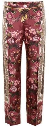 F.R.S For Restless Sleepers Crono silk velvet trousers