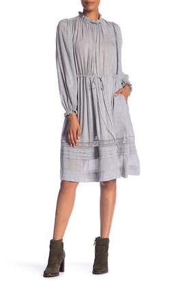 Rebecca Taylor Long Sleeve Lace Dress