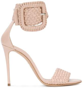 Casadei ankle buckle sandals