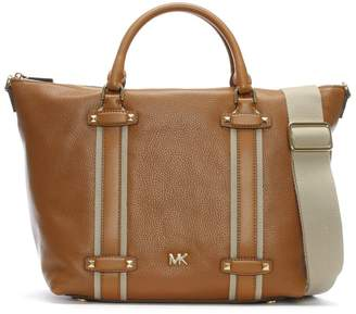 Michael Kors Large Griffin Acorn Leather Satchel Bag
