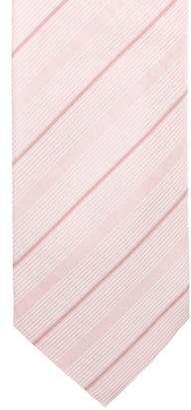 Louis Vuitton Striped Monogram Jacquard Silk Tie w/ Tags