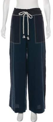 Tanya Taylor High-Rise Cropped Pants w/ Tags