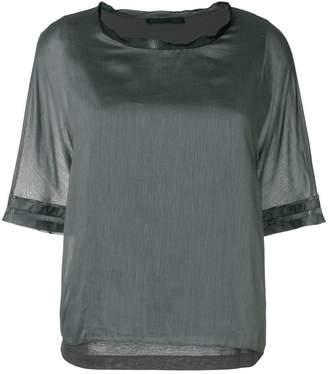 Fabiana Filippi short-sleeve shift blouse