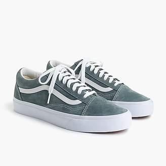 3f4dfda1fb at J.Crew · J.Crew Vansu0026reg  Old Skool sneakers in grey suede