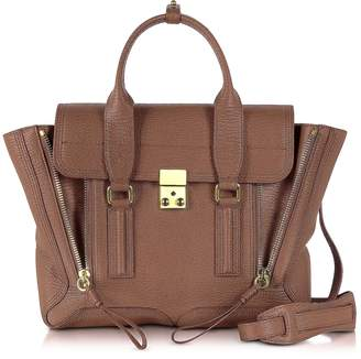 3.1 Phillip Lim Taupe Leather Pashli Medium Satchel Bag