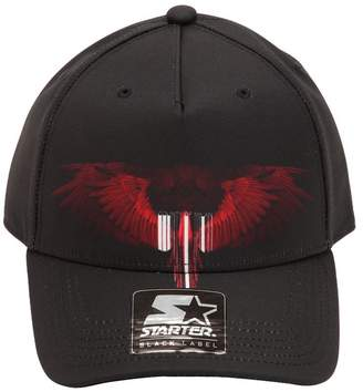 Marcelo Burlon County of Milan Starter Wings Barcode Baseball Hat