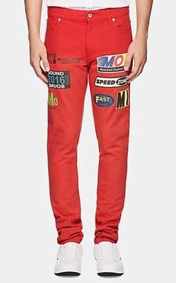 "Moschino MEN'S ""RACE CAR"" SLIM JEANS"