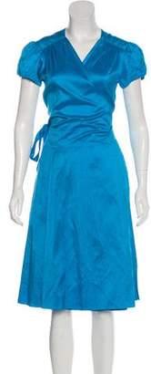 Calypso Silk Midi Dress w/ Tags