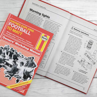 Haynes Me and My Sport Personalised Football Manual
