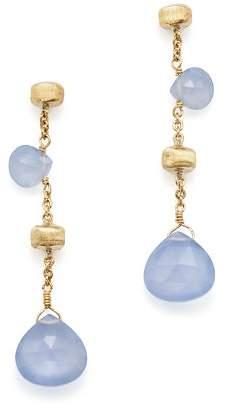Marco Bicego 18K Yellow Gold Paradise Chalcedony Drop Earrings