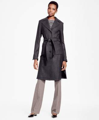Brooks Brothers Double-Face Twill Coat