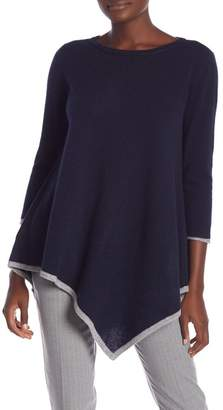 Magaschoni M BY Asymmetrical Cashmere Tunic