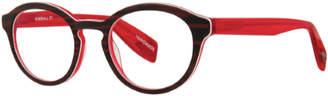 Scojo KIMBALL STREET WALNUT/CHERRY +2.00 READING GLASSES