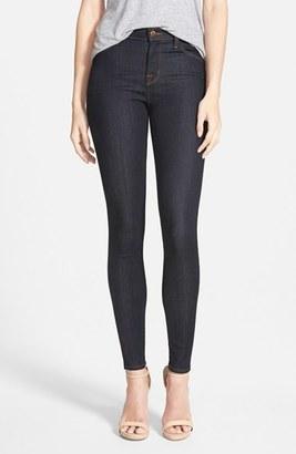 Women's J Brand Maria High Waist Skinny Jeans $188 thestylecure.com