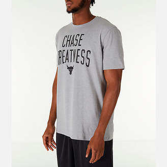Under Armour Men's x Project Rock Chase Greatness T-Shirt
