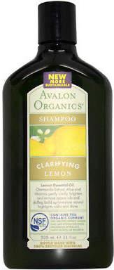 Avalon Organics Clarifying Shampoo - Lemon 324.5 ml Hair Care