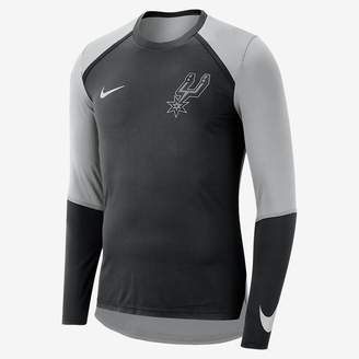 Nike San Antonio Spurs Dri-FIT Men's Long-Sleeve NBA Top