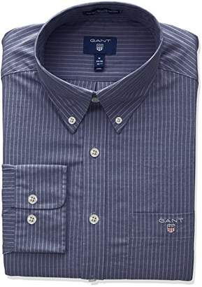 Gant Men's The Broadcloth Pinstripe Regular Fit Button Down Shirt