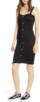 Noisy May Lea Smocked Minidress