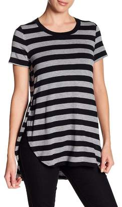 Love, Fire Striped Side Vented Tee