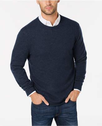 Club Room Cashmere Crew-Neck Sweater