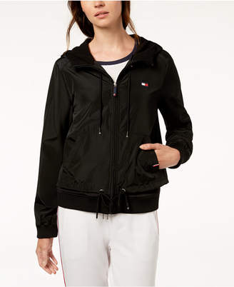 Tommy Hilfiger Hooded Plaid Active Jacket, Created for Macy's