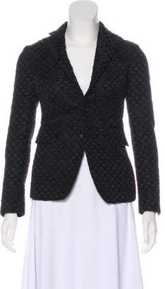 DSQUARED2 Textured Long Sleeve Blazer w/ Tags