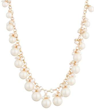 """Carolee Cultured Freshwater Pearl Statement Necklace, 16"""""""