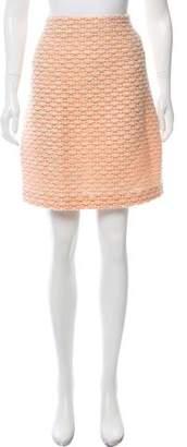 Bottega Veneta Wool & Silk-Blend Skirt